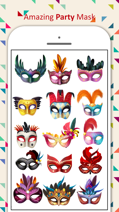 Party Mask Emoji screenshot 1