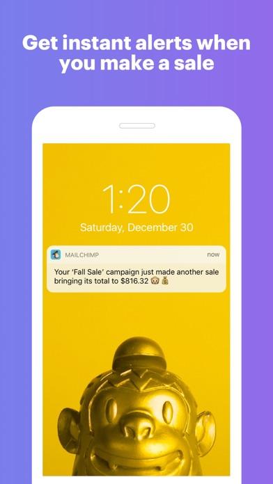 Screenshot 4 for MailChimp's iPhone app'