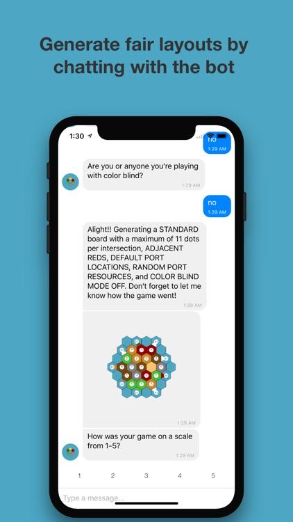 Catan Map Generator Chat Bot screenshot-3