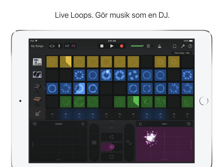 iPad Skärmavbild 4