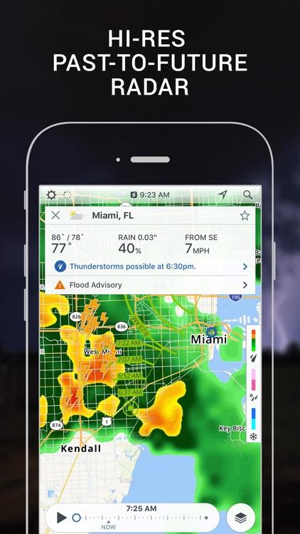 Storm Radar with NOAA Weather screenshot-0