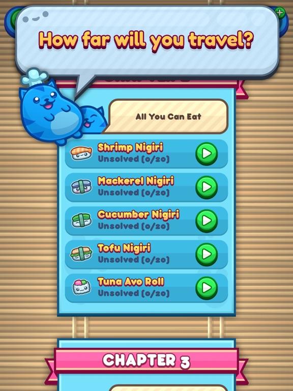 Sushi Cat Words screenshot 8