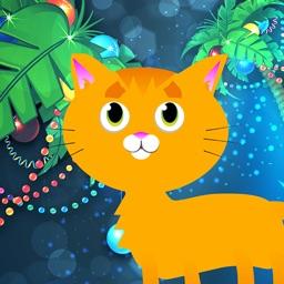 The Christmas Caribbean Cat