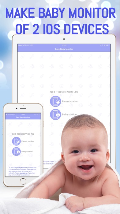 Easy Baby Monitor - Babysitter screenshot 1
