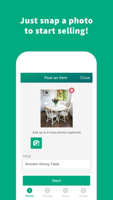 Offerup buy sell simple free iphone ipad app market for Buy house app