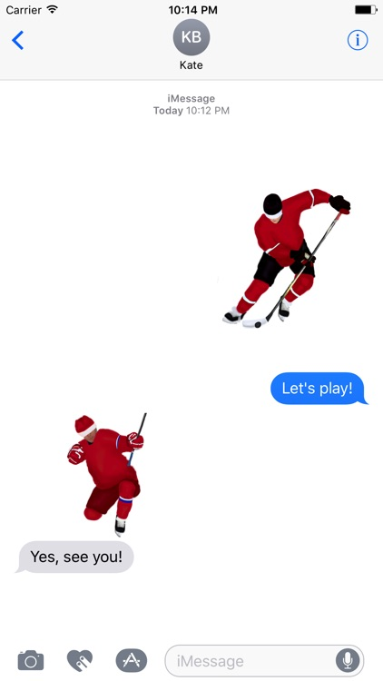 Hockey teams stickers screenshot-3