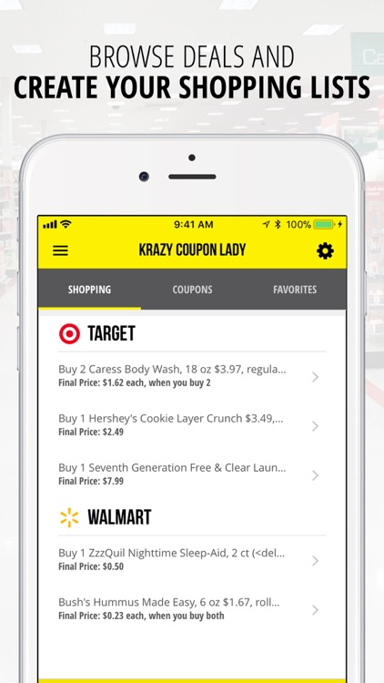 Krazy Coupon Lady: Shop & Save