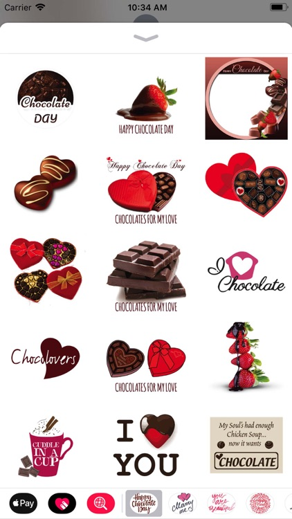 Happy Chocolate Day Valentine screenshot-3
