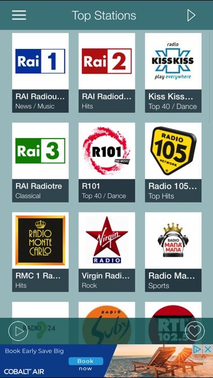 iRadio Italia - Tuner