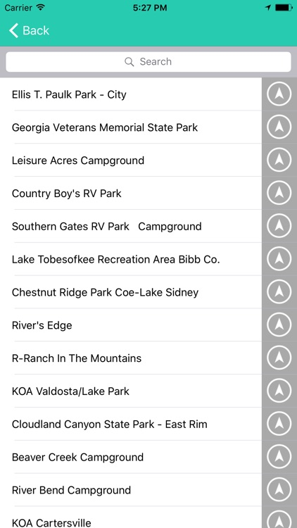 Georgia State Campgrounds & RV's screenshot-2