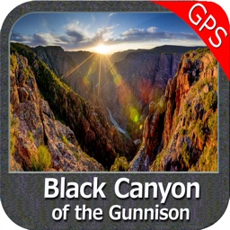 Black Canyon of the Gunnison NP GPS Map Navigator