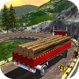 Highway Cargo Truck Transport