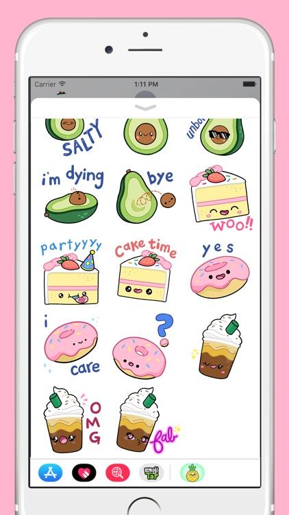 Comfort Food Stickers screenshot-4
