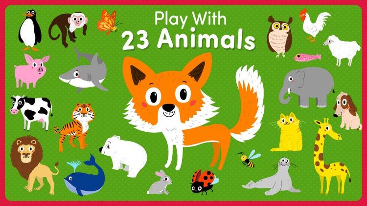 Animal games for 2 3 year olds screenshot-3
