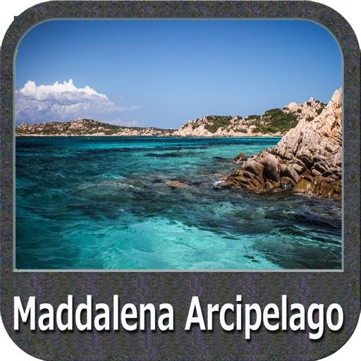 The Maddalena Arcipelago Park - GPS Map Navigator