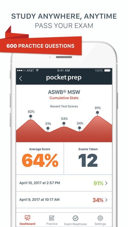 MSW Pocket Prep screenshot-0