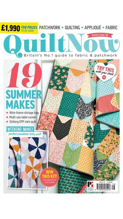 Quilt Now Magazine screenshot-4