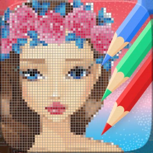 Sandbox Pixel Art Coloring