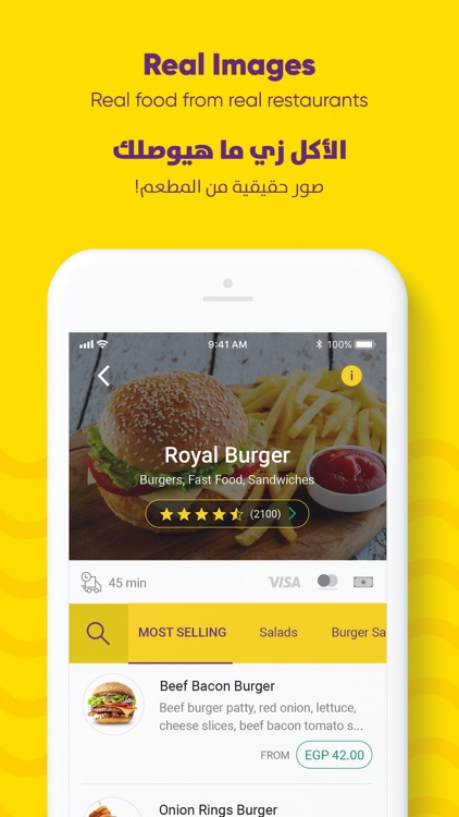 Otlob - Online food delivery screenshot-3