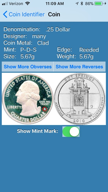 Coin ID/Mint Mark Locator screenshot-3