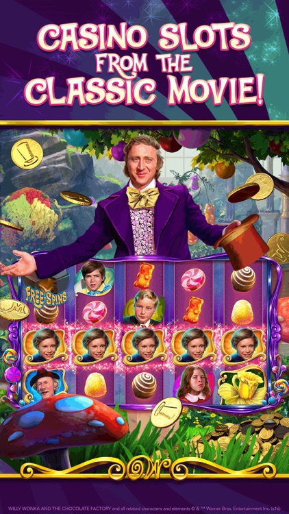 Willy Wonka Slots Vegas Casino screenshot-0