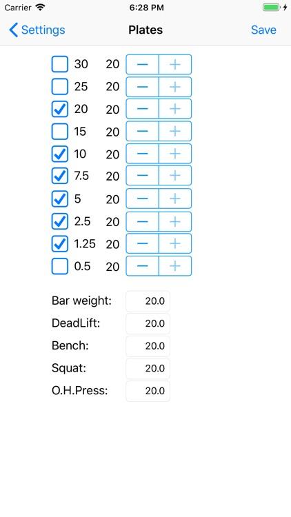 5/3/1 Workout logger - 531 screenshot-6
