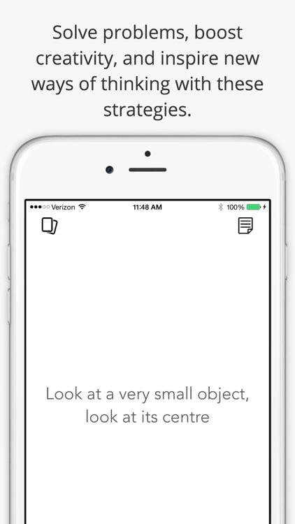 Oblique: Productive Strategies screenshot-0