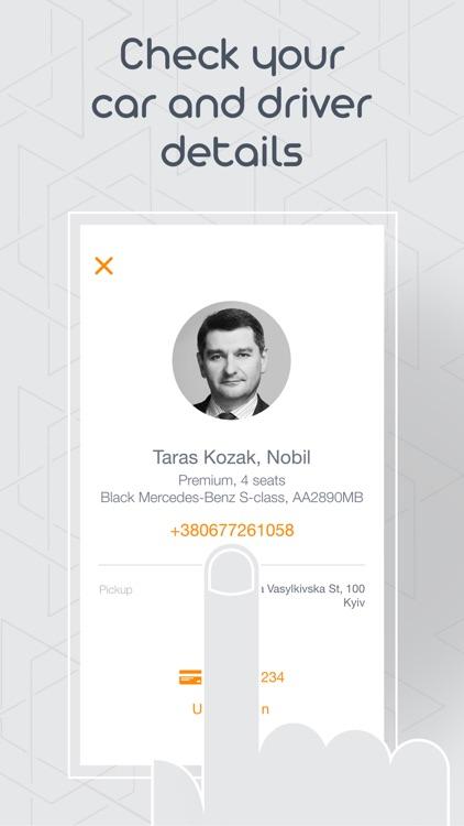 Nobil - elit taxi service Kyiv