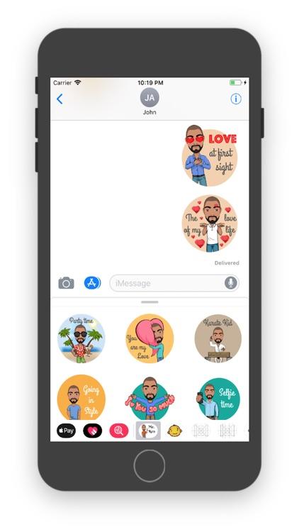 Mr. Ken - Sticker Pack screenshot-3