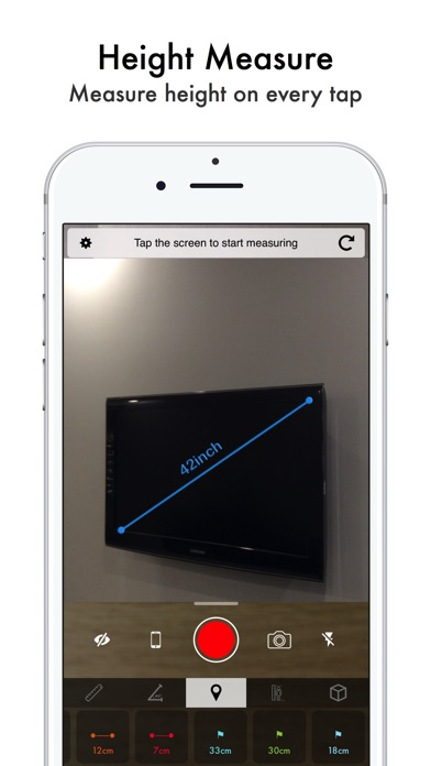 Air Touch Measure App Report on Mobile Action - App Store