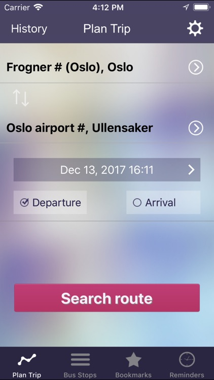 OnTimely-Oslo, RuterReise screenshot-0