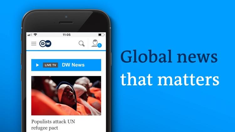 DW - Breaking World News screenshot-5