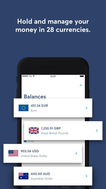 TransferWise Money Transfer screenshot-3