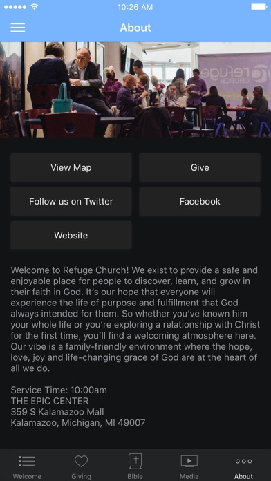 Refuge Church (Kalamazoo) screenshot 3