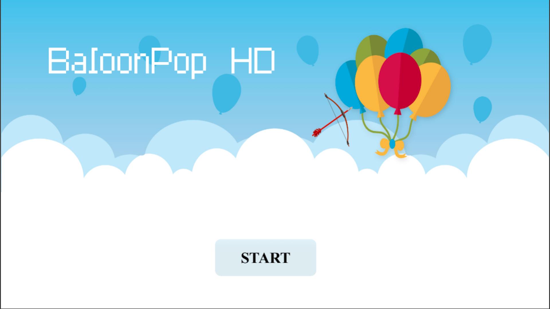 Baloon Pop HD screenshot 1