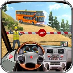 Offroad Bus Hill Transport Sim