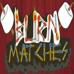 Burn-Matches Puzzle Game
