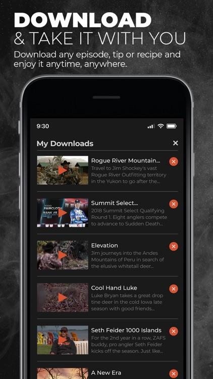 MyOutdoorTV: Hunt, Fish, Shoot screenshot-3