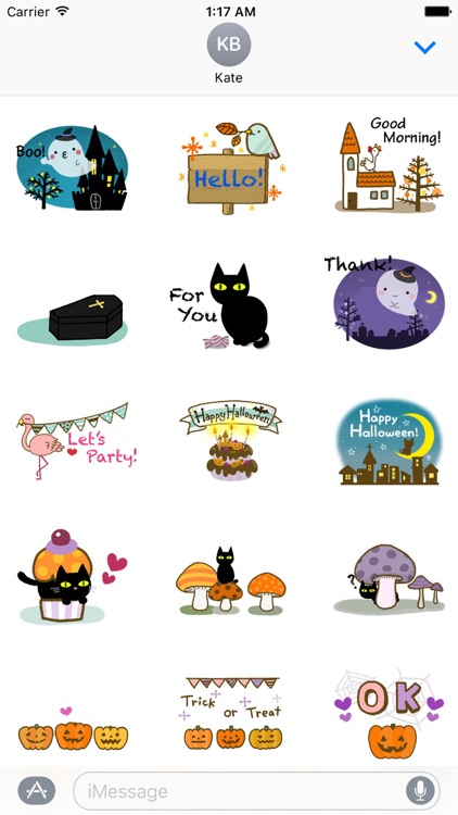 Animated Halloween Sticker