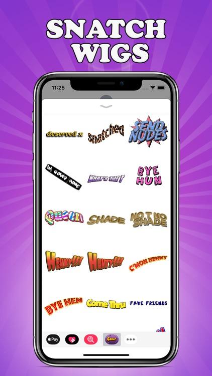 Sass Stickers screenshot-3