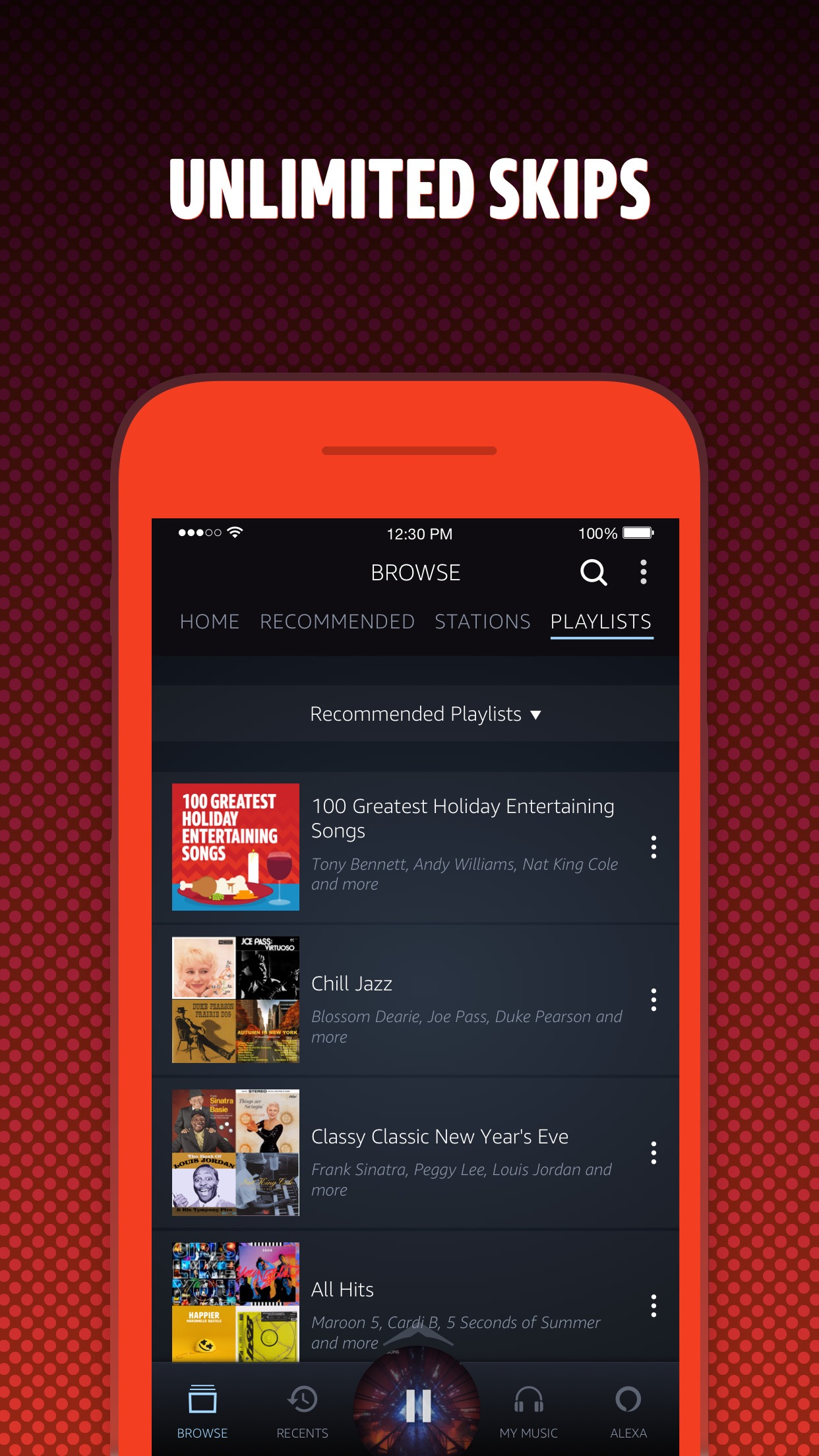 Amazon Music Screenshot
