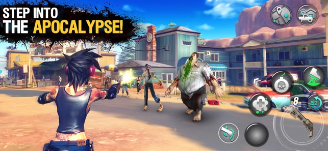 Dead Rivals - Zombie MMO Screenshot