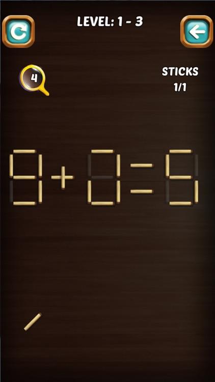 Math Stick Match Puzzle screenshot-7