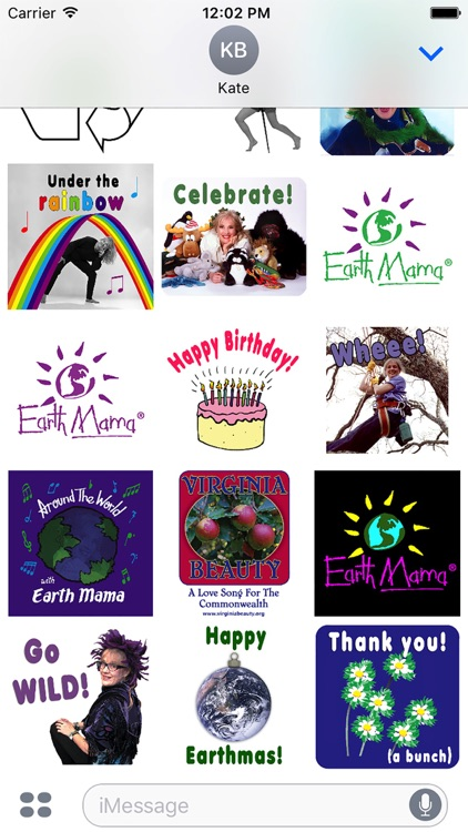 Earth Mama® Eco Sticker Fun screenshot-3