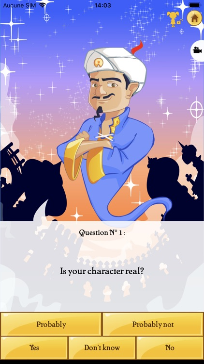 Akinator screenshot-2
