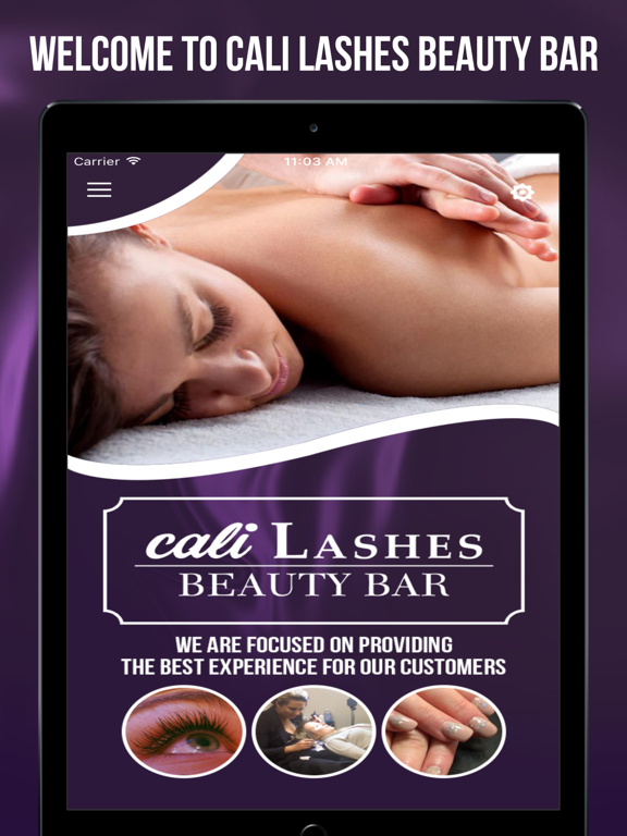 Cali Lashes Beauty Bar-ipad-0