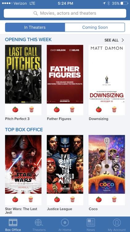 Flixster - Showtimes + Tickets screenshot-0