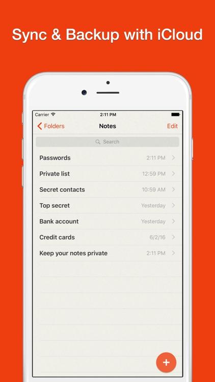 Lock Notes Pro