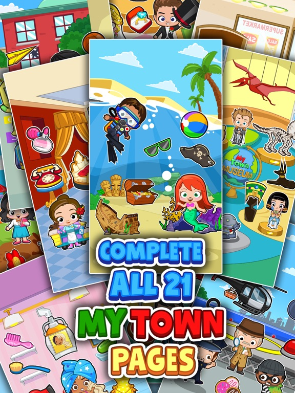 My Town : Sticker Book screenshot 8