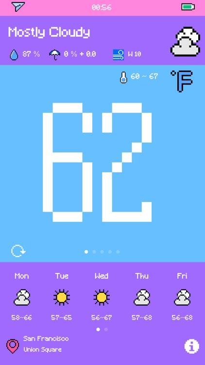 Pixel Weather - Forecast